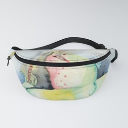 Cigar Smoking Chinese Water Dragon Fanny Pack