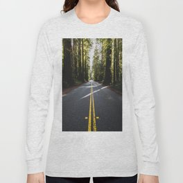 Redwoods Road Trip - Nature Photography Long Sleeve T-shirt