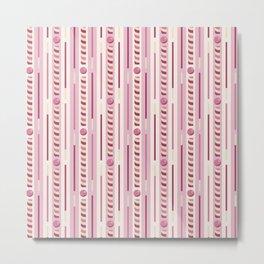 Strawberry Cookie Sticks Vertical Metal Print