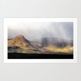 Morning Showers over the Quiraing Art Print