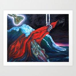 Full Rapture Art Print