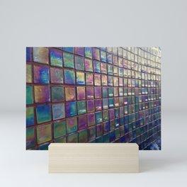 Rainbow tile Mini Art Print