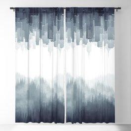 Between Blackout Curtain