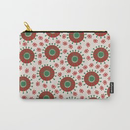 Carousel Christmas Carry-All Pouch