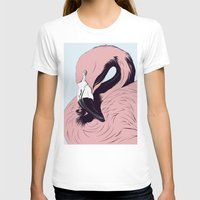 flamingo T-shirts featuring Flamingo by CranioDsgn