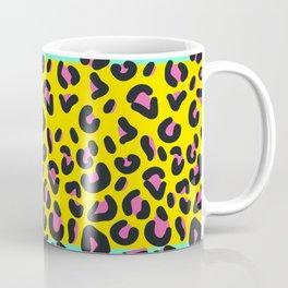 Abstract Leopard Pattern Coffee Mug
