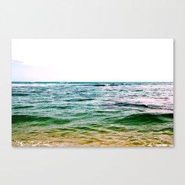 ombre sea Canvas Print