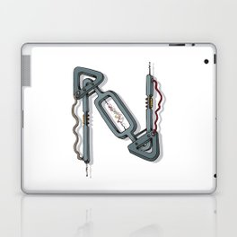 MACHINE LETTERS - N Laptop & iPad Skin