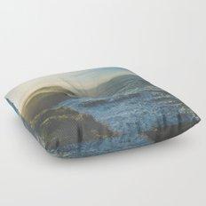 Cliffside Morning Floor Pillow