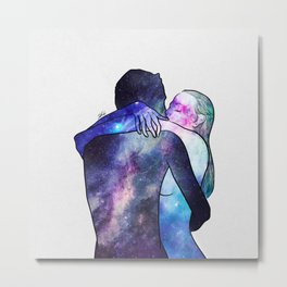 Just you gave me that feeling. Metal Print