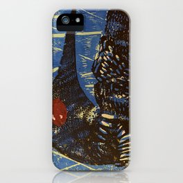 Looney Bird iPhone Case