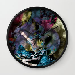 Hug of sin Wall Clock