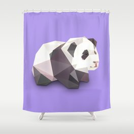 Panda. Shower Curtain