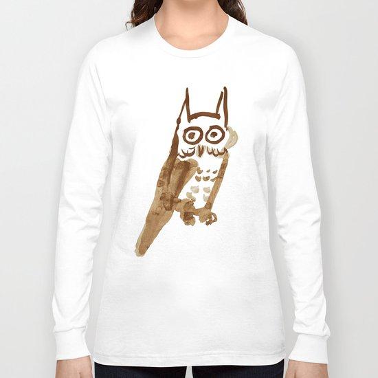 Naive Owl Long Sleeve T-shirt