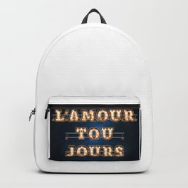 L'Amour Toujours -  Wall-Art for Hotel-Rooms Backpack