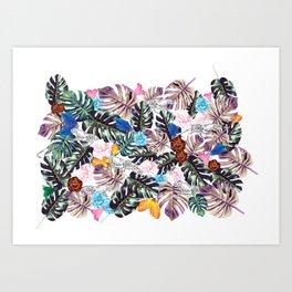 DALILA print Art Print