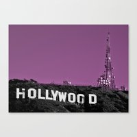 hollywood Canvas Prints featuring Hollywood  by Rob Hawkins Photography