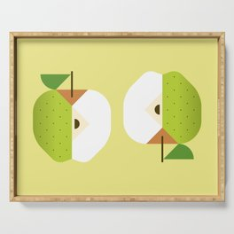 Fruit: Apple Golden Delicious Serving Tray