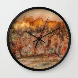 Idaho Gem Stone 37 Wall Clock