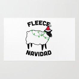 Fleece Navidad Rug