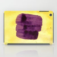 transparent iPad Cases featuring transparent Yellow by seb mcnulty