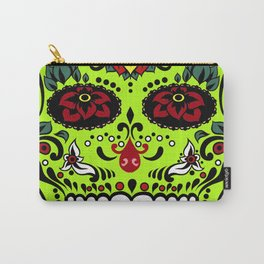 Sugar Skull #7 Carry-All Pouch