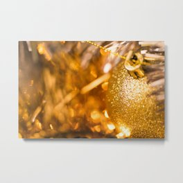 Golden Cheer I Metal Print