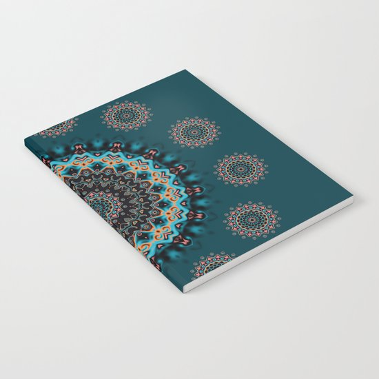 Colorful mandala Notebook