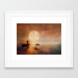 In Quiet Light Framed Art Print