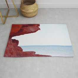 Red Rocks and Sapphire Seas Rug