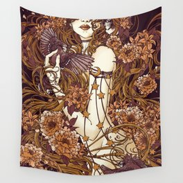 Rapunzel Mulberry Wall Tapestry