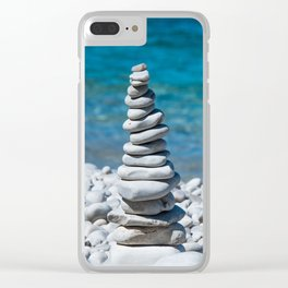 Just Breathe Clear iPhone Case