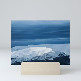 when in doubt go to the mountains Mini Art Print