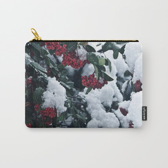 Winter and snow Carry-All Pouch