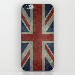 Union Jack (1:2 Version) iPhone Skin