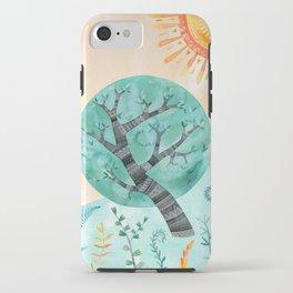 Geometric Tree iPhone Case