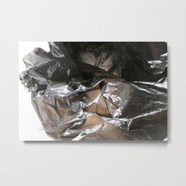 black plastic 04 Metal Print