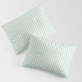 Gingham in Sage Pillow Sham