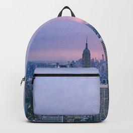 New York Sunset, I love NYC (Manhattan, Brooklyn, Queens) Backpack