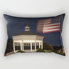 Stage Fort Park at night Rectangular Pillow