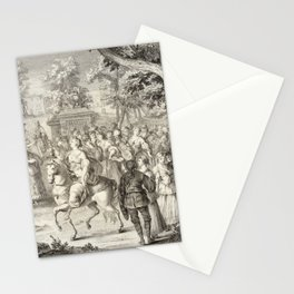 A.J. Defehrt - Cortège of Aurora (1764) Stationery Cards