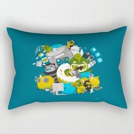 Technophiles Rectangular Pillow