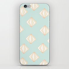 Spinning Gems Mint iPhone Skin