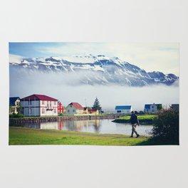Seydisfjordur, Iceland Rug