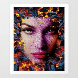 Sizzling Hot Art Print