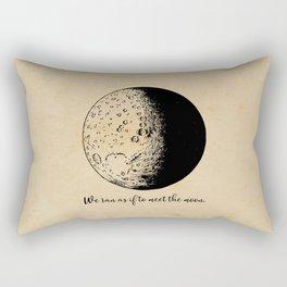 Robert Frost - Meet the Moon Rectangular Pillow