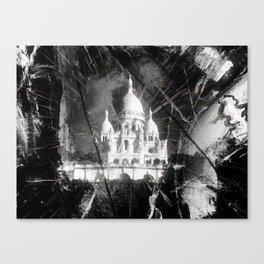 Paris - Basilique du Sacré Cœur Canvas Print
