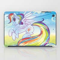 mlp iPad Cases featuring Rainbow Dash - MLP by mmishee