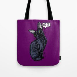 Anything But Meow Tote Bag