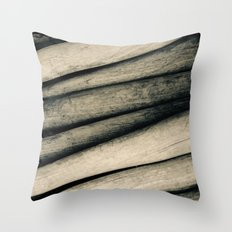 Vintage Baseball Bats Throw Pillow